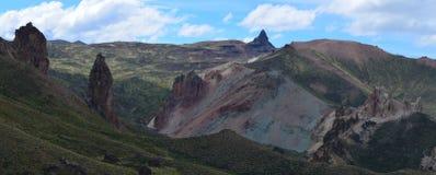 Reserva Nacional Lago Jeinimeni, nära Lago general Carrera i sydliga Chile Royaltyfria Bilder