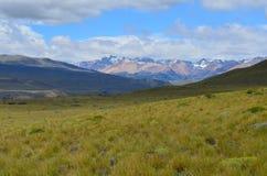 Reserva Nacional Lago Jeinimeni, perto do general Carrera de Lago no Chile do sul foto de stock