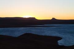 Reserva natural da represa de Sterkfontein Fotografia de Stock