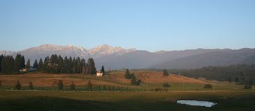 Reserva natural de Cansiglio Italy Foto de Stock Royalty Free