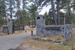 Reserva natural de la montaña del puesto de observación Fotos de archivo libres de regalías