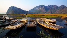 Reserva natural de Van Long Foto de archivo libre de regalías