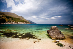 Reserva natural del cíngaro, Sicilia Fotos de archivo libres de regalías