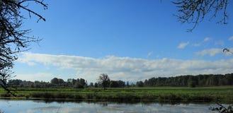 Reserva natural do nacional de Ridgefield Fotos de Stock Royalty Free