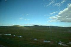 Reserva natural nacional de Hokexili do platô ibetan imagens de stock
