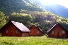 Reservado lugar en las montañas Imagen de archivo