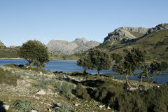 Reservas de água de Cuber, Escorca, Mallorca, Espanha Fotos de Stock