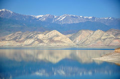 Reservas de água de Toktogul Fotografia de Stock