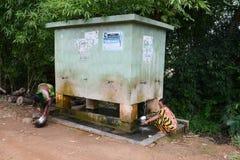 Reservas de agua Fotografía de archivo