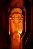 Reservatório afundado do palácio ou da basílica Imagens de Stock