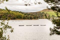 Reservatório Bamford de Ladybower Imagens de Stock