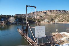 Reservatório da irrigação Imagens de Stock Royalty Free