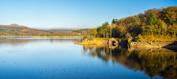 Reservatório Dartmoor Devon de Burrator foto de stock royalty free