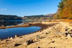 Reservatório Dartmoor Devon de Burrator fotografia de stock