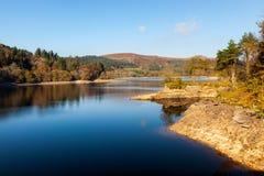 Reservatório Dartmoor Devon de Burrator fotos de stock