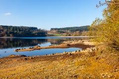 Reservatório Dartmoor Devon de Burrator fotografia de stock royalty free