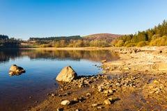 Reservatório Dartmoor Devon de Burrator foto de stock