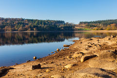 Reservatório Dartmoor Devon de Burrator imagens de stock