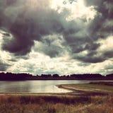 Reservatório de Blithfield foto de stock