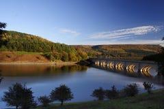 Reservatório de Ladybower Fotos de Stock Royalty Free