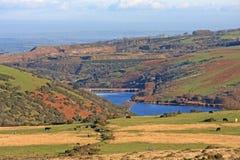 Reservatório de Meldon, Dartmoor Fotografia de Stock Royalty Free