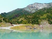 Reservatório de Nurek Fotografia de Stock