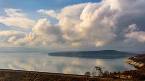Reservatório de Ogosta perto de Montana fotografia de stock royalty free