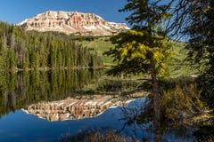 Reservatório do lago glacier, estrada de Beartooth Imagem de Stock Royalty Free
