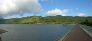 Reservatório do lago Innerste imagens de stock