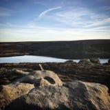 Reservatório Inglaterra norte Reino Unido Foto de Stock Royalty Free