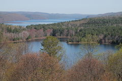 Reservatório Massachusetts de Quabbin fotografia de stock