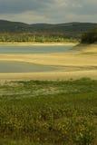 Reservatório Parched Imagens de Stock