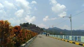 Reservatório Tulungagung East Java de Wonorejo imagem de stock