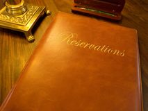 Free Reservation Book Of A Restaurant Hotel Etc. Royalty Free Stock Images - 9691839