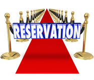 Reservation Red Carpet Exclusive Restaurant Club Access Entry We Royalty Free Stock Photos