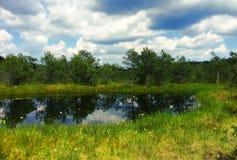 Reservationsområde Royaltyfria Bilder