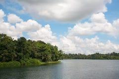 Reservatório superior de Seletar em Singapura Foto de Stock Royalty Free