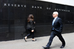 The Reserve Bank of Australia Sydney New South Wales Australia Stock Image