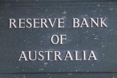 Reserve Bank av Australien Royaltyfri Fotografi