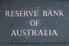 Reserve Bank de Austrália Fotografia de Stock Royalty Free