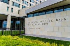 Reserve Bank federal de Kansas City Fotos de Stock