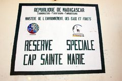 Reserve Cap Sainte Marie Royalty Free Stock Images