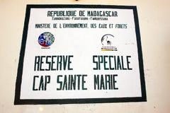 Reserve Cap Sainte Marie Royalty Free Stock Images