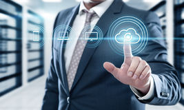 Reserve de Technologie van Bedrijfs Internet van Opslaggegevens concept royalty-vrije stock afbeelding