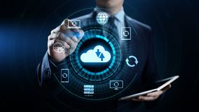 Reserve de technologieconcept van Internet van de Softwaretoepassingsdatabase vector illustratie