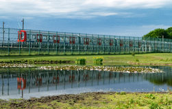 Reserve-Eisenbahn Stockfoto