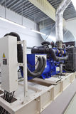 Reserve generator stock afbeelding