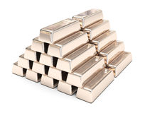 Reserve gold Stock Images