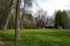 Reserve-Museum Abramtsevo. Bad - Teremok Lizenzfreies Stockbild