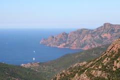 Reserve Naturelle de Scandola. Photographie stock